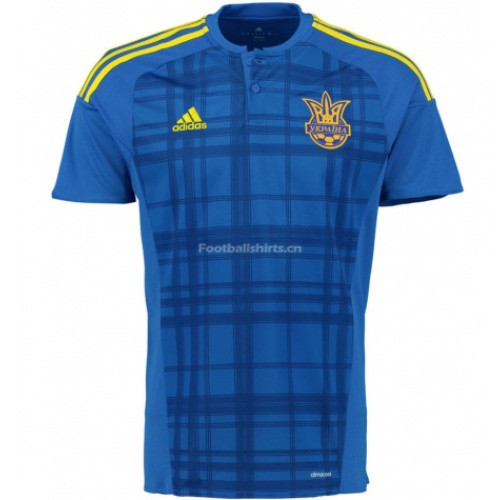 Ukraine 2016/17 Away Soccer Jersey